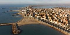 Vue des Saintes Maries de la Mer (© OT des Saintes Maries de la mer)