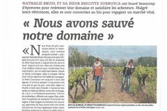 Domaine du Petit Chaumont Aigues Mortes expose leur conversion Bio pour produire des vins issus de raisins biologiques (® la vigne)