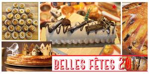 Boulangerie Mas Saint Pierre Lattes dévoile son dépliant gourmand de Fêtes de fin d'année.