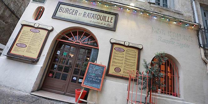 Burger et Ratatouille Montpellier, un restaurant atypique à découvrir en centre-ville qui propose une cuisine fait maison! ( ® SAAM-fabrice Chort)