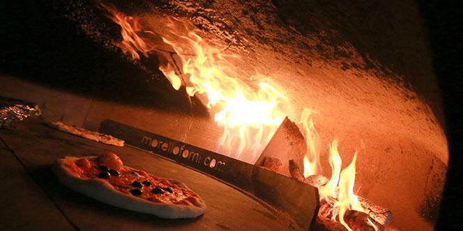 Chez Vincent est l'une des meilleures pizzerias de Montpellier située dans le quartier des Beaux Arts.(® SAAM-Fabrice Chort)