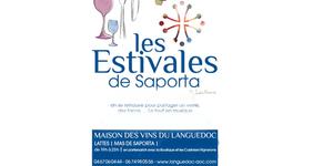 Les Estivales de Saporta auront lieu tous les mardis soirs du 20 juin au 5 septembre à Lattes.