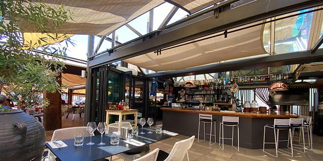 Hippy Market Sète propose une une cuisine fusion de haute volée à la carte de son restaurant.