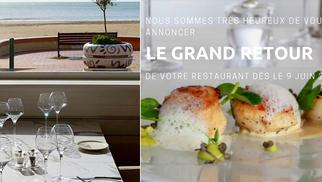 Le restaurant L'Escale à Palavas-les-Flots annonce son ouverture le 9 juin. (® facebook l'escale)