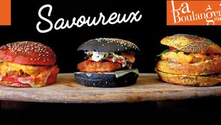 La Boulangerie Ponrouch à Lattes met des couleurs dans ses burgers « green » .