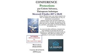 La Maison Lattes Restaurant propose une conférence holistique le mercredi 19 juillet à 18h.