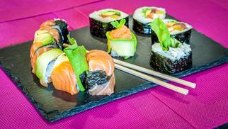 Lady Sushi St Gély livre à domicile les commandes de sushis sur les communes de Montpellier Nord (© lady sushi)