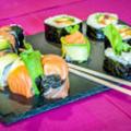 Lady Sushi St Gély livre à domicile les commandes de sushis sur les communes de Montpellier Nord.(© lady sushi)