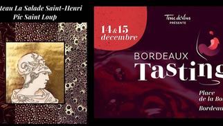 Le Château la Salade Saint Henri sera présent au salon Terre de Vin Bordeaux Tasting les 14 et 15 décembre 2019