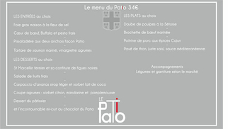 Le restaurant le Patio Mauguio présente sa nouvelle carte et son menu Le Patio