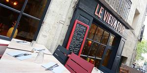 Le Vieux Four Montpellier Restaurant de cuisine fait maison a ouvert sa terrasse et annonce sa nouvelle carte.(® SAAM-fabrice Chort)