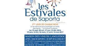 Les Estivales de Saporta Lattes ce ce jeudi 19 janvier de 19h à 23h au Mas de Saporta sont annoncées avec dégustations de vins, tapas, animations (® saporta)