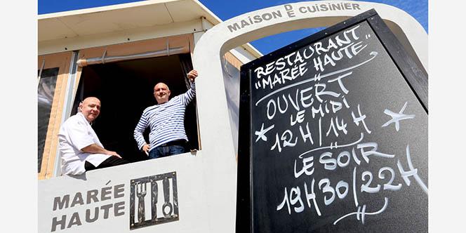 Marée Haute Frontignan Restaurant de cuisine fait maison est en mode Saint-Valentin avec son menu Saint Valentin et le lancement d'un nouvel hashtag pour l'occasion.( ® SAAM-fabrice CHORT)