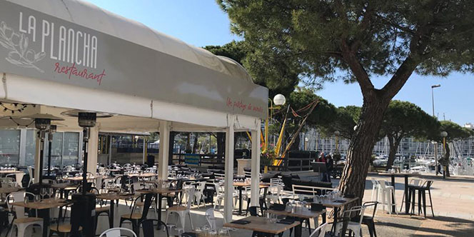 Repas à gagner au restaurant la Plancha avec Resto-Avenue et France Bleu Hérault(® SAAM fabrice Chort)
