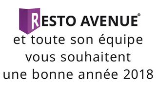 Resto-Avenue.fr Le guide des restaurants de Montpellier et des alentours vous présente ses meilleurs voeux pour l'année 2018 !