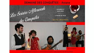 Soirée Afterwork au Domaine des Conquêtes le vendredi 13 mars