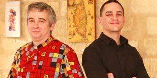 Le Ban des Gourmands Montpellier restaurant traditionnel de cuisine du marché au centre-ville est dirigé par Jacques Delèpine et Jonathan Marchais (® networld-fabrice Chort)