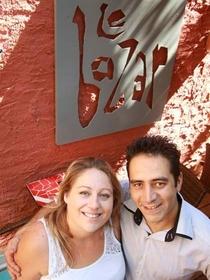 Le Bazar Montpellier Restaurant dirigé par Claire et Frédéric Milhe dans le quartier Aiguelongue tout proche du Club 7 (® networld-fabrice chort)