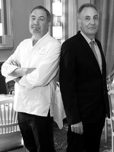 Le Mazerand Lattes restaurant gastronomique près de Montpellier est dirigé par Jacques et Christian Mazerand.(® networld-fabrice Chort)