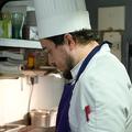 Le Pressoir Restaurant à Saint Saturnin présente le chef cuisinier Loïc Diaz.