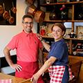 Le restaurant Fleur de Sel à Sète avec Carmen et Stefan(® SAAM fabrice CHORT)