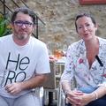 Le restaurant Le Pressoir à St-Saturnin est géré par Isabelle et Vincent Bedos