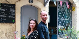 Les t'OCqués Montpellier Restaurant cuisine fait maison créé par Sarah et Julien vous reçoit en centre-ville dans le quartier Saint Roch.(® SAAM-fabrice Chort)