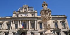 Vue de la Préfecture au centre-ville de Montpellier (® NetWorld)