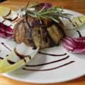 La Jalade restaurant Montpellier présente la La Charlotte de Canard façon Tajine (® La Jalade)