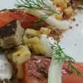 Le Clos des Oliviers Saint Gély du Fesc propose sa recette à base de Saumon gravlax à l'aneth(® clos des oliviers - Grégory Doucey)
