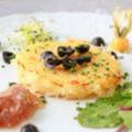 Le Verseau Saint Bauzille de Putois présente sa recette de Brandade de Morue à découvrir également à la carte du restaurant.(® networld-fabrice chort)