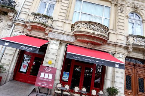 Restaurant Chez Boris est un restaurant de viande à Montpellier avec une cuisine fait maison ainsi qu'un bar à vins et tapas sur l'Esplanade en centre-ville.(® SAAM-Fabrice CHORT)