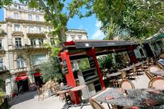 Brasserie Boris est un restaurant et bar à vins à Montpellier sur l'Esplanade en centre-ville avec une grande terrasse.(® SAAM-fabrice CHORT)