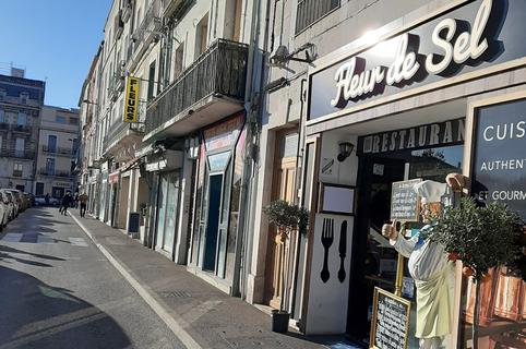 Fleur de Sel à Sète est un restaurant de cuisine fait maison en centre-ville, avec terrasse.(® fleur de sel)
