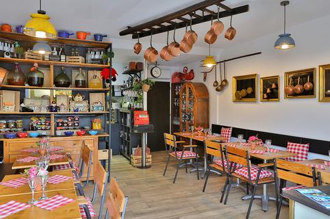 Fleur de Sel à Sète est un restaurant de cuisine fait maison en centre-ville, avec terrasse.(® SAAM fabrice CHORT)