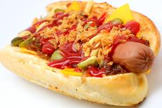 Food'Art Montpellier et sa Street Food fait maison, ici un hot dog (® SAAM fabrice Chort)