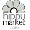 Hippy Market Café à Sète est un restaurant de poissons et coquillages, avec des tables en terrasse sur les quais du canal. (® site hippy market café)