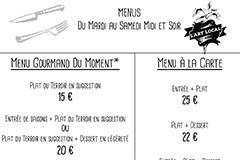 L'Art Local Montpellier Restaurant fait maison | Carte SEPTEMBRE-OCTOBRE 2020