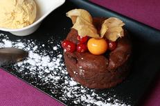 L'Auberge Sète est un restaurant traditionnel en centre-ville. Découvrez un dessert maison (® SAAM-fabrice Chort)