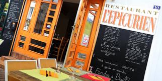 Epicurien Frontignan Restaurant avec cuisine du monde traditionnelle avec poissons et produits frais de saison.(® SAAM-fabrice Chort)