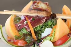 Restaurant L'Etoile de mer Grande Motte propose des assiettes gourmandes (® networld-fabrice chort)