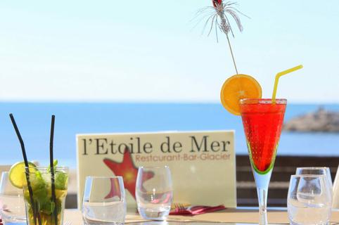 L'Etoile de mer Grande Motte restaurant de poissons et coquillages vue mer (® networld-fabrice chort)