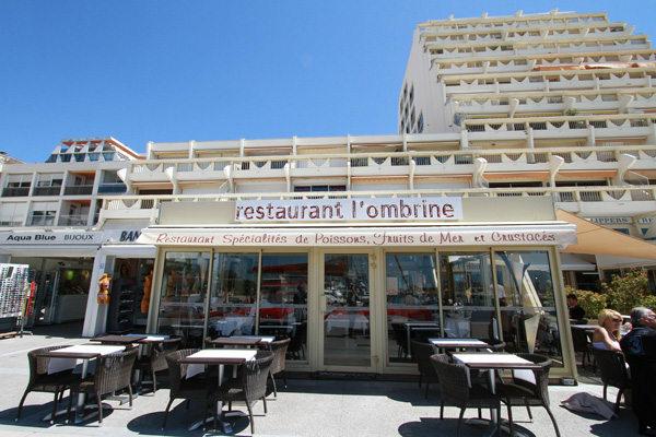 Restaurant La Grande Motte Sur Le Port