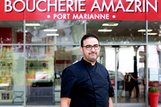 La Boucherie Amazrin Montpellier est géré par Hicham Amazrin (® SAAM fabrice Chort)