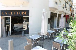 La Cettoise Montpellier est un restaurant fait maison avec des plats méditerranéens à base de poissons et produits frais dans le quartier des Beaux Arts.(® SAAM-fabrice Chort)