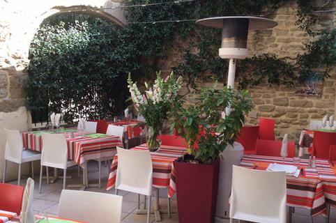 La Croq'au sel Gallargues le Montueux Restaurant avec belle terrasse ( ® la croq au sel)