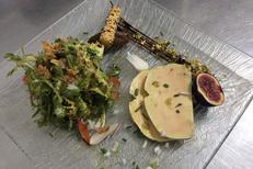 La Croq'au sel Gallargues le Montueux présente son Foie gras (® la croq au sel)
