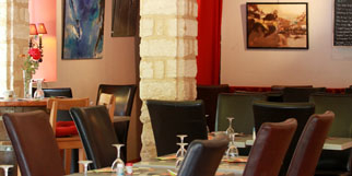 La Jalade Restaurant Montpellier une cuisine traditionnelle aux accents méditerranéens dans le complexe de tennis club La Jalade près des Hôpitaux Facultés.(® networld-fabrice chort)