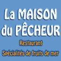 La Maison du Pêcheur Mèze restaurant de poissons, de coquillages et crustacés avec une terrasse face aux bateaux.
