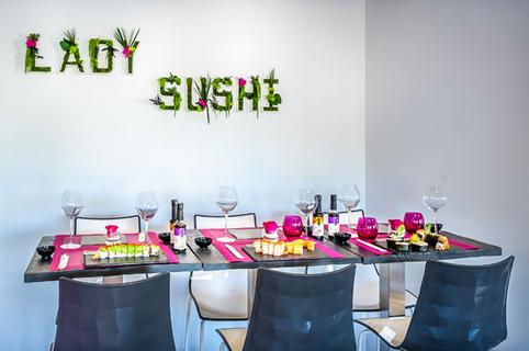 lady sushi saint g ly du fesc sushis sur place livr s ou emporter. Black Bedroom Furniture Sets. Home Design Ideas